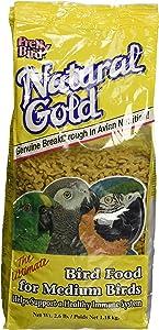 Pretty Bird Natural Gold Medium Bird Food