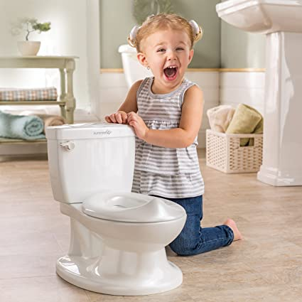 Pink Summer Infant My Size Potty Training Toilet for Toddler Girls