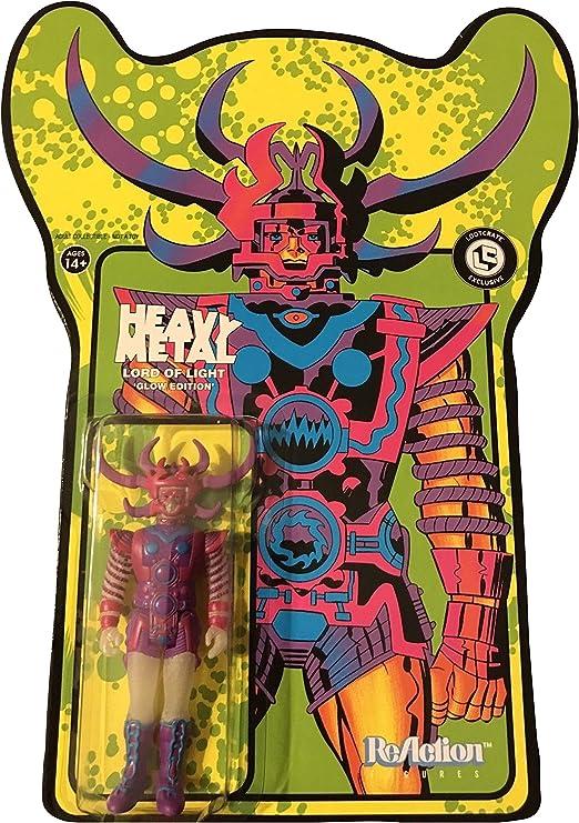 Amazon.com: Heavy Metal Lord – Figura de luz que brilla en ...