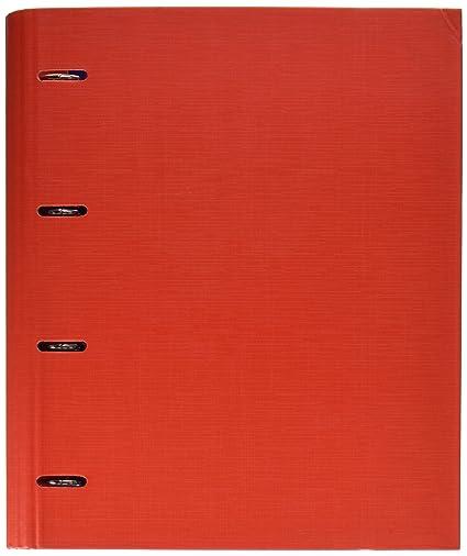 Makro Paper 209282 - Archivador con anillas, color rojo