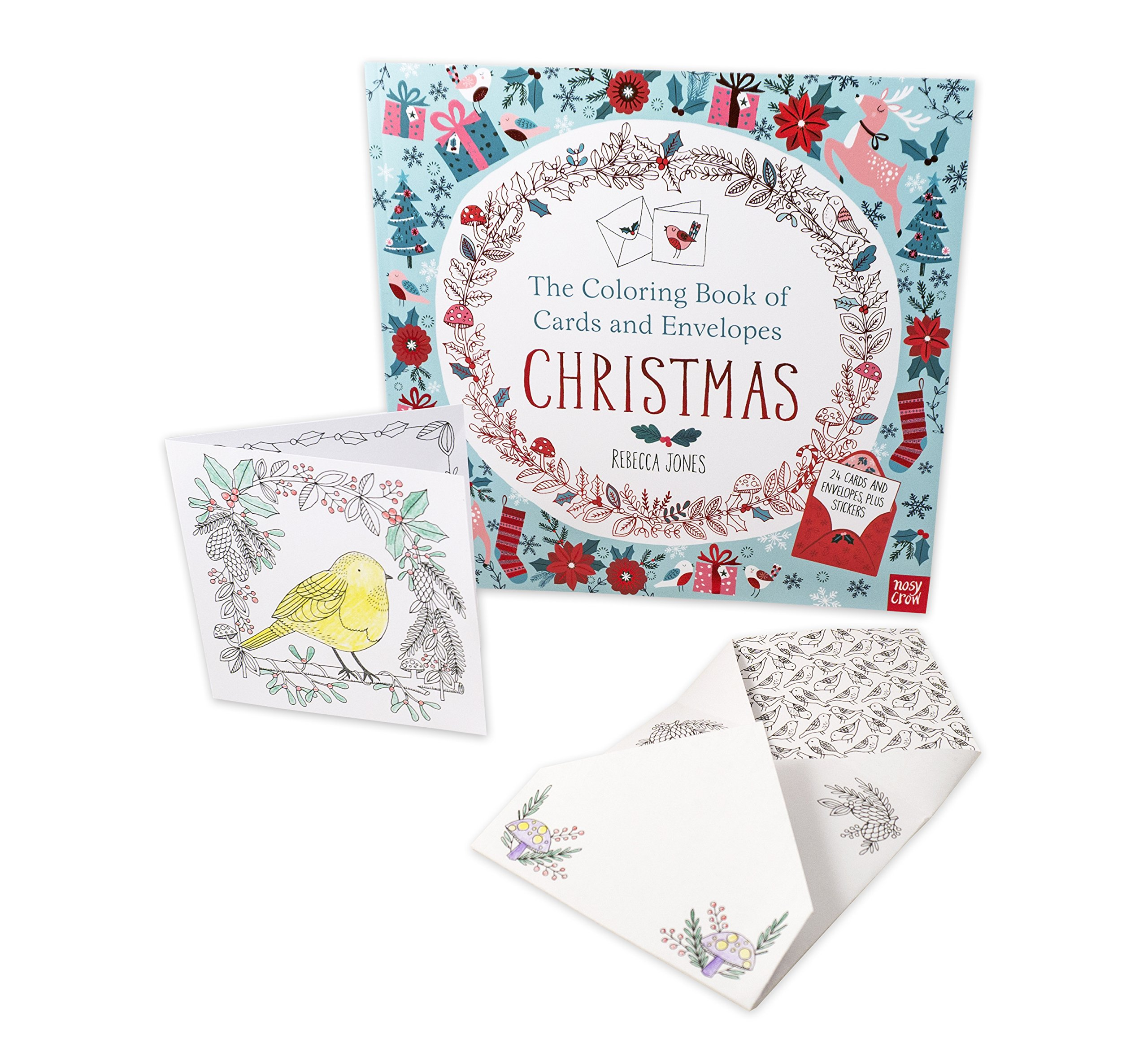 The Coloring Book of Cards and Envelopes: Christmas: Nosy Crow ...