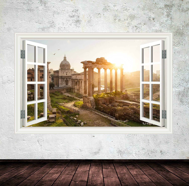 Wand Smart Designs wsd235l Full Farbe Antike Italien Fenster ...