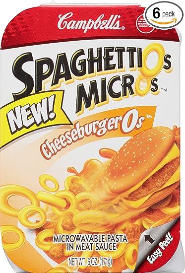 spaghettio de microondas Pasta, 6 onzas (Paquete de 6 ...