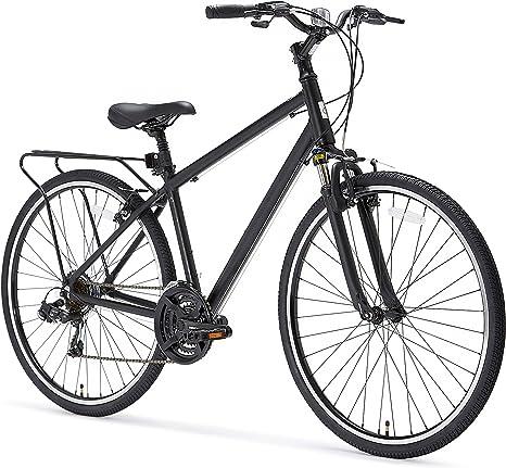 Sixthreezero Pave n Trail Bicicleta híbrida de Carretera de 21 ...