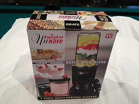 7 piezas Nuwave Twister licuadora multiusos: Amazon.es: Hogar