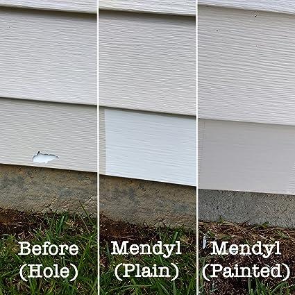 contractor 10 pack of mendyl vinyl siding repair kit amazon com