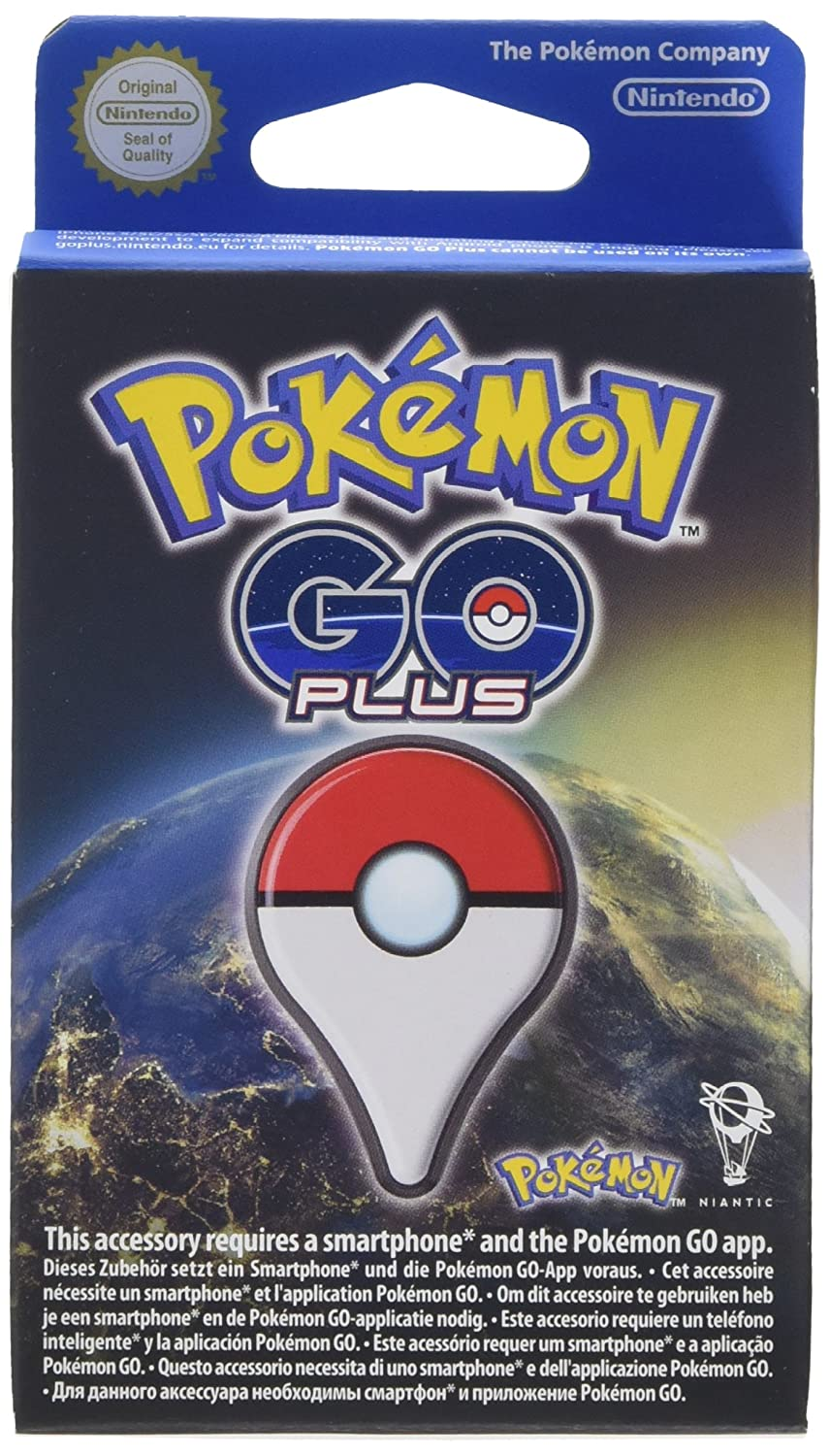 Nintendo - Pokémon Go Plus: Amazon.es: Videojuegos