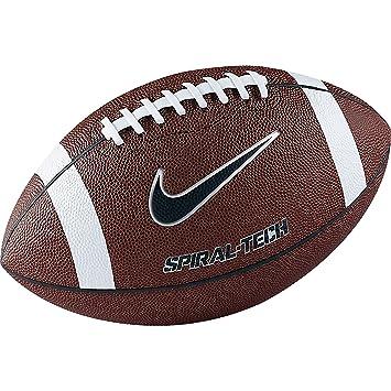 f19c0d4e7752 Nike - Spiral football americain - Ballon football américain - Marron -  Taille Unique