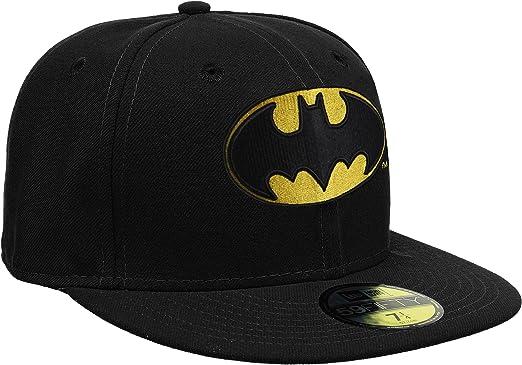 New Era Baseball Cap Mütze Basic Batman 59Fifty Fitted Gorra ...