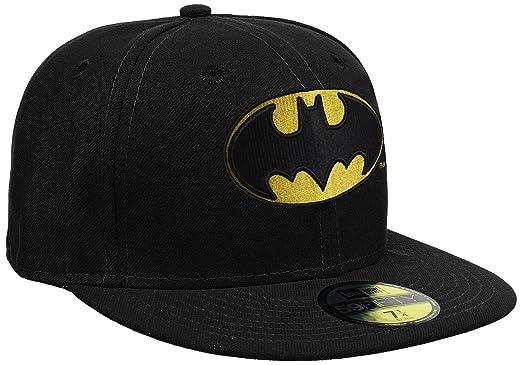 Amazon.com  New Era 59Fifty Character Basic Batman Cap  Clothing 7afa547a965