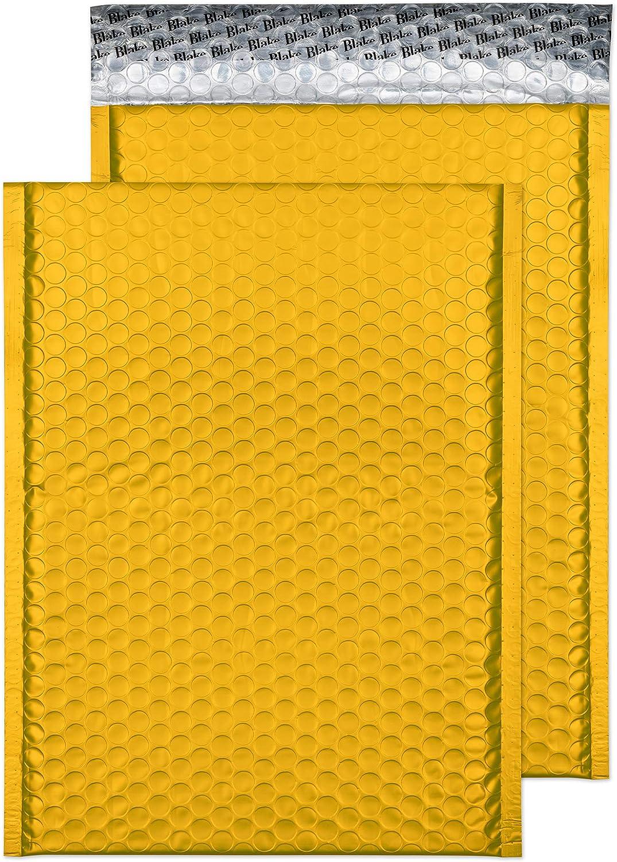 Blake Purely Packaging MTEY324 confezione da 100 colore: Giallo uovo Buste imbottite con bolle daria formato C4 324 x 230 mm