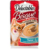 Delectables Bisque Lickable Wet Cat Treats - Tuna - 12 Pack
