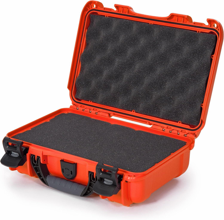 Nanuk 909 Waterproof Hard Case with Foam Insert Silver