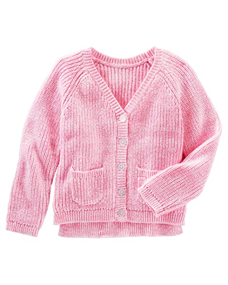 Amazon.com: OshKosh B gosh Little Girls Marled Rosa ...