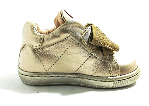 BALDUCCI CITA1907 Platino Scarpe Bambina Sneakers Chiusura a Strappo Baby  (18 EU) ae7aa8aefb9