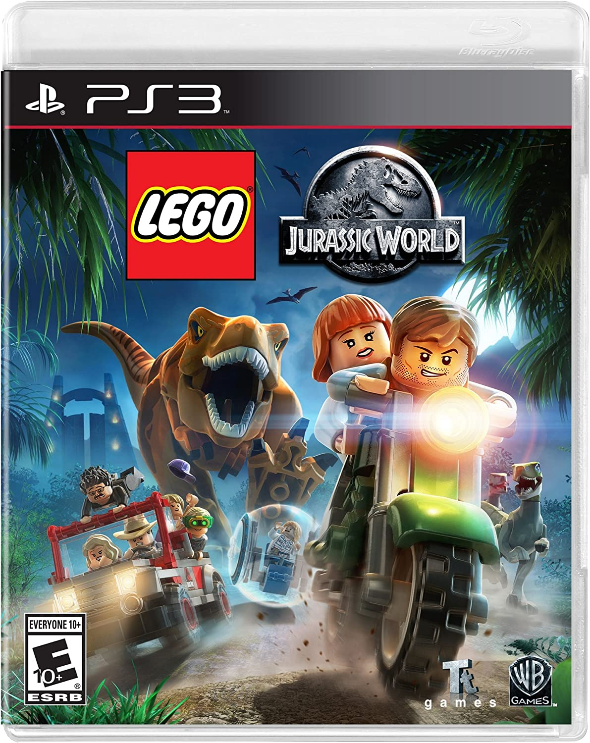 Amazon lego jurassic world playstation 3 whv games video games gumiabroncs Choice Image