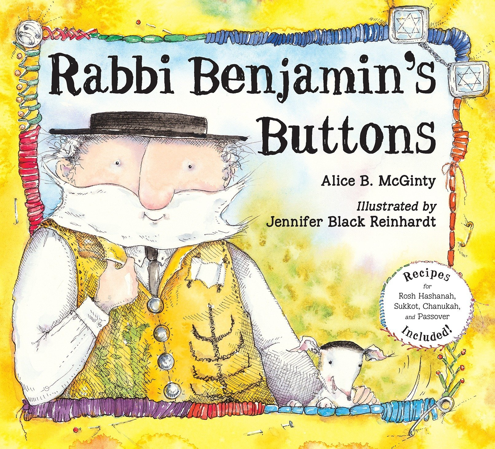 Rabbi Benjamins Buttons Alice B Mcginty Jennifer Black Reinhardt