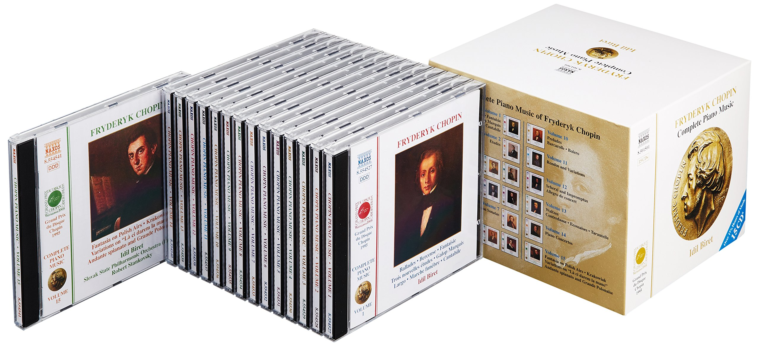 Chopin: Complete Piano Music by Naxos Box Sets