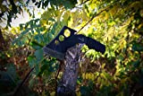 Elk Ridge - Outdoors Axe - 8-in Overall, 4-in Black Stainless Steel Axe Blade, Full Tang Construction, Black Cord Wrapped Handle, Nylon Sheath - ER-272