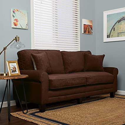 Enjoyable Serta Copenhagen Sofas 73 Brown Gmtry Best Dining Table And Chair Ideas Images Gmtryco