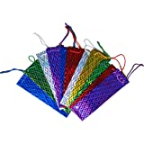 12 x Assorted Large Holographic Wine Bag Bottle Holder Carrier Gift Bags by My Planet