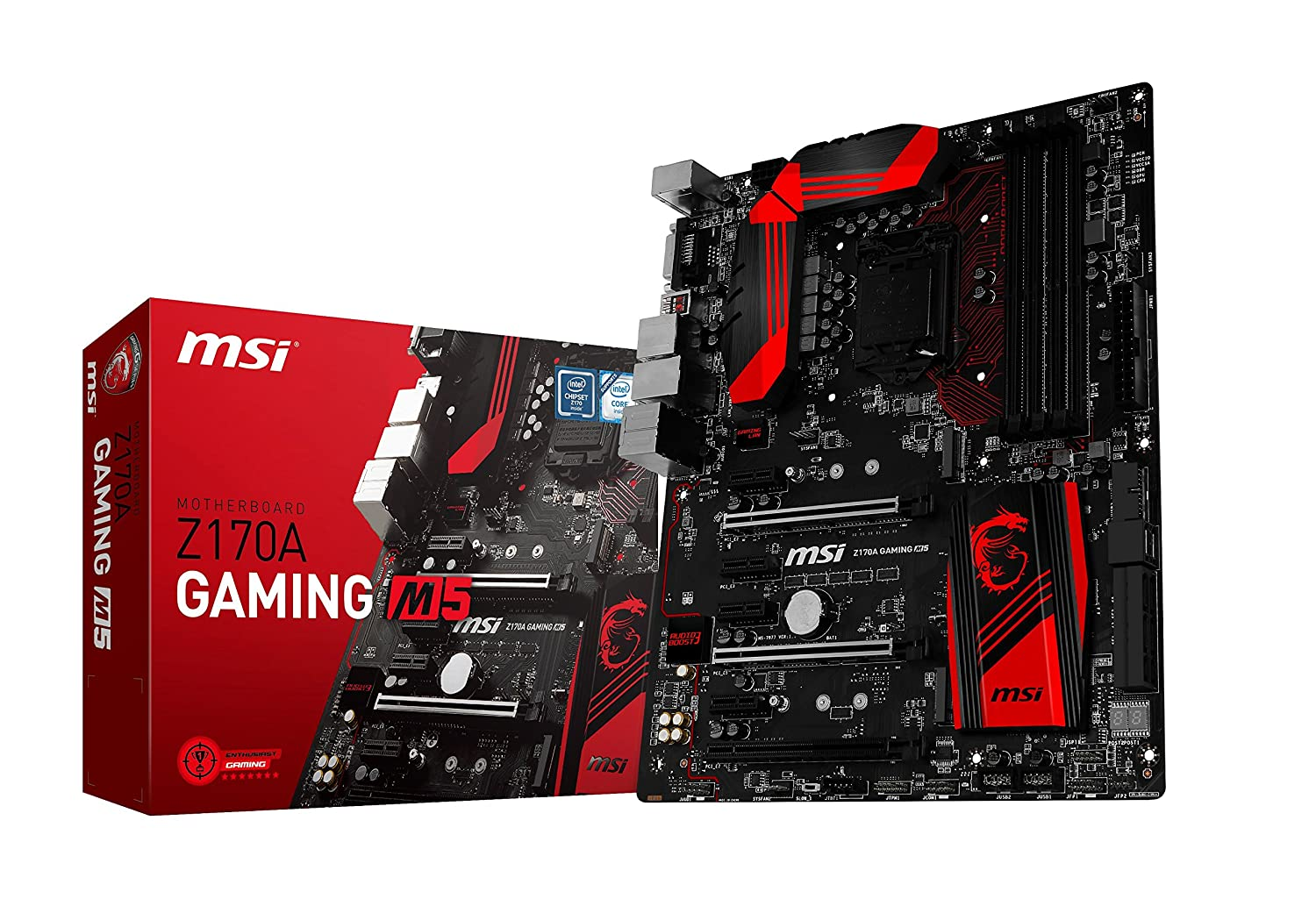 MSI Scheda madre Z170A GAMING M5