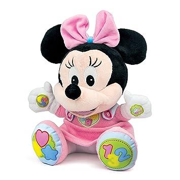 Clementoni 62181 - Peluche Disney Minnie [Importado de Francia]