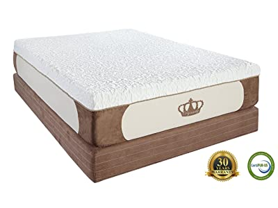 Dynasty Mattress New Cool Breeze 12-Inch Gel Memory Foam Mattress-Full Size