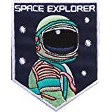Embroidered patches Écusson thermocollant/à coudre Motif Astronaute