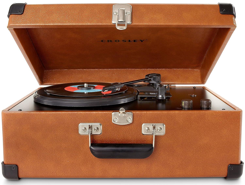 Crosley Keepsake Deluxe - Tocadiscos (Tocadiscos de tracción por ...
