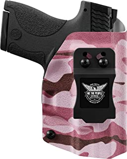 product image for We The People Holsters - Pink Camo - Inside Waistband Concealed Carry - IWB Kydex Holster - Adjustable Ride/Cant/Retention