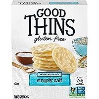 Good Thins Simply Salt Rice Crackers, 3.5 oz