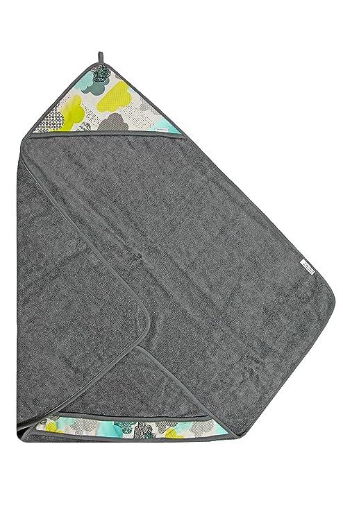 Bamboo Line, Exclusivo 100% CV bambú toalla con capucha Incluye 1 x Mull pañales, ...
