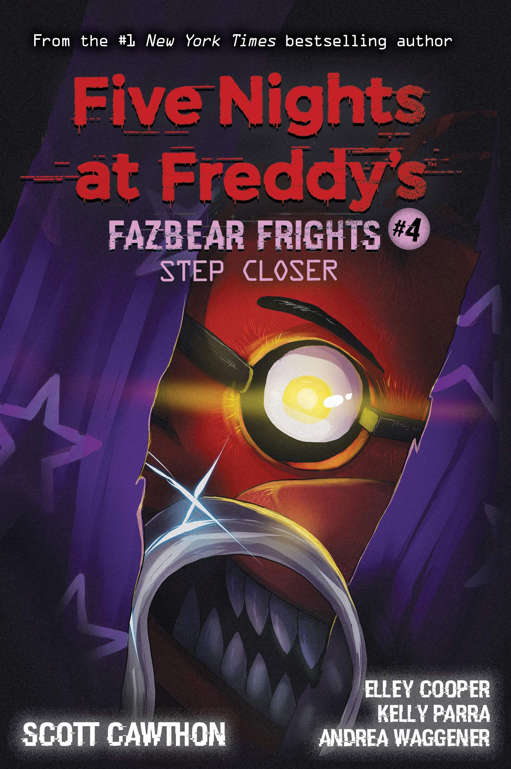 Amazon Com Five Nights At Freddy S Fazbear Frights 4 9781338576054 Cawthon Scott Waggener Andrea Cooper Elley Parra Kelly Books