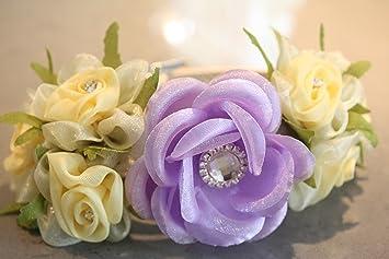 Amazon dog wedding floral collar necklace purple and yellow dog wedding floral collar necklace purple and yellow mightylinksfo