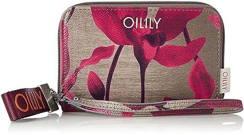 Oilily - Jolly Purse Sh4z, Carteras Mujer, Rot (Dark Red), 1x10x16