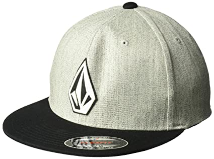 Volcom Stone Stack Jfit Gorra, Hombre, Gris (Heather Grey), S/