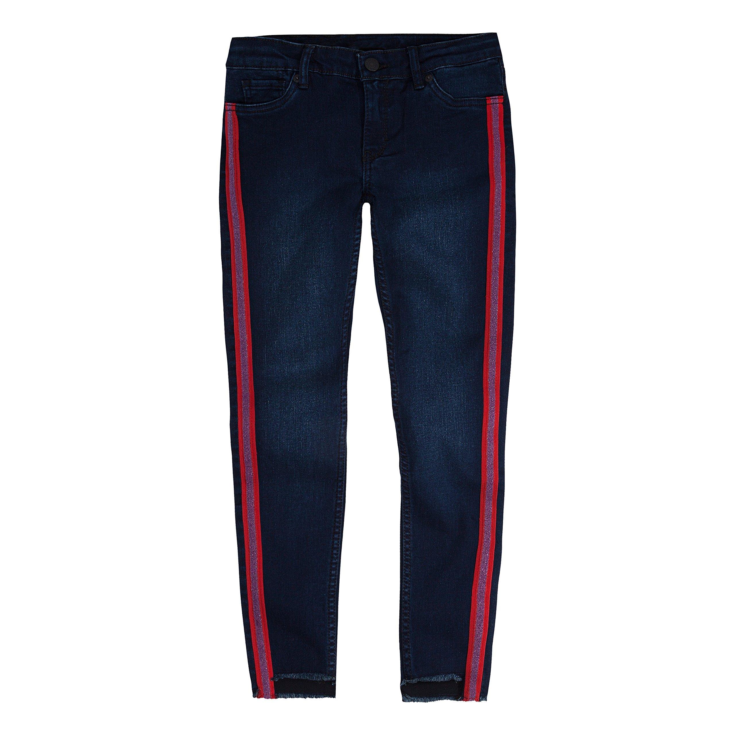 Levi's Big Girls 710 Ankle Super Skinny Jeans, Night Bird, 7