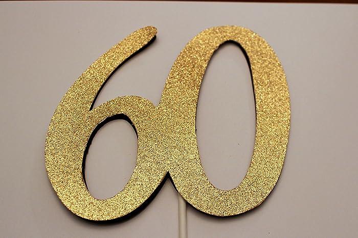 Amazon 60th Birthday Cake Topper