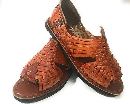 EL CHARRO Mens Huarache Sandals. Mexican Sandals. Huaraches Mexicanos