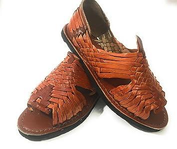 Amazon.com EL CHARRO Mens Huarache Sandals. Mexican Sandals. Huaraches  Mexicanos Sports \u0026 Outdoors