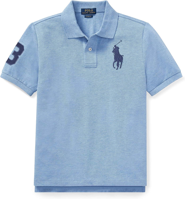 Ralph Lauren - Big Pony Polo para niños de 6-14 años - Azul ...