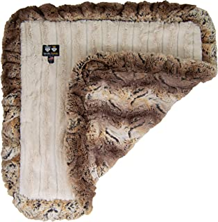 product image for Bessie and Barnie Natural Beauty/ Simba Luxury Ultra Plush Faux Fur Pet, Dog, Cat, Puppy Super Soft Reversible Blanket (Multiple Sizes)