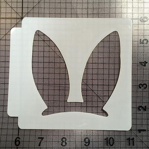 Bunny Stencil 100