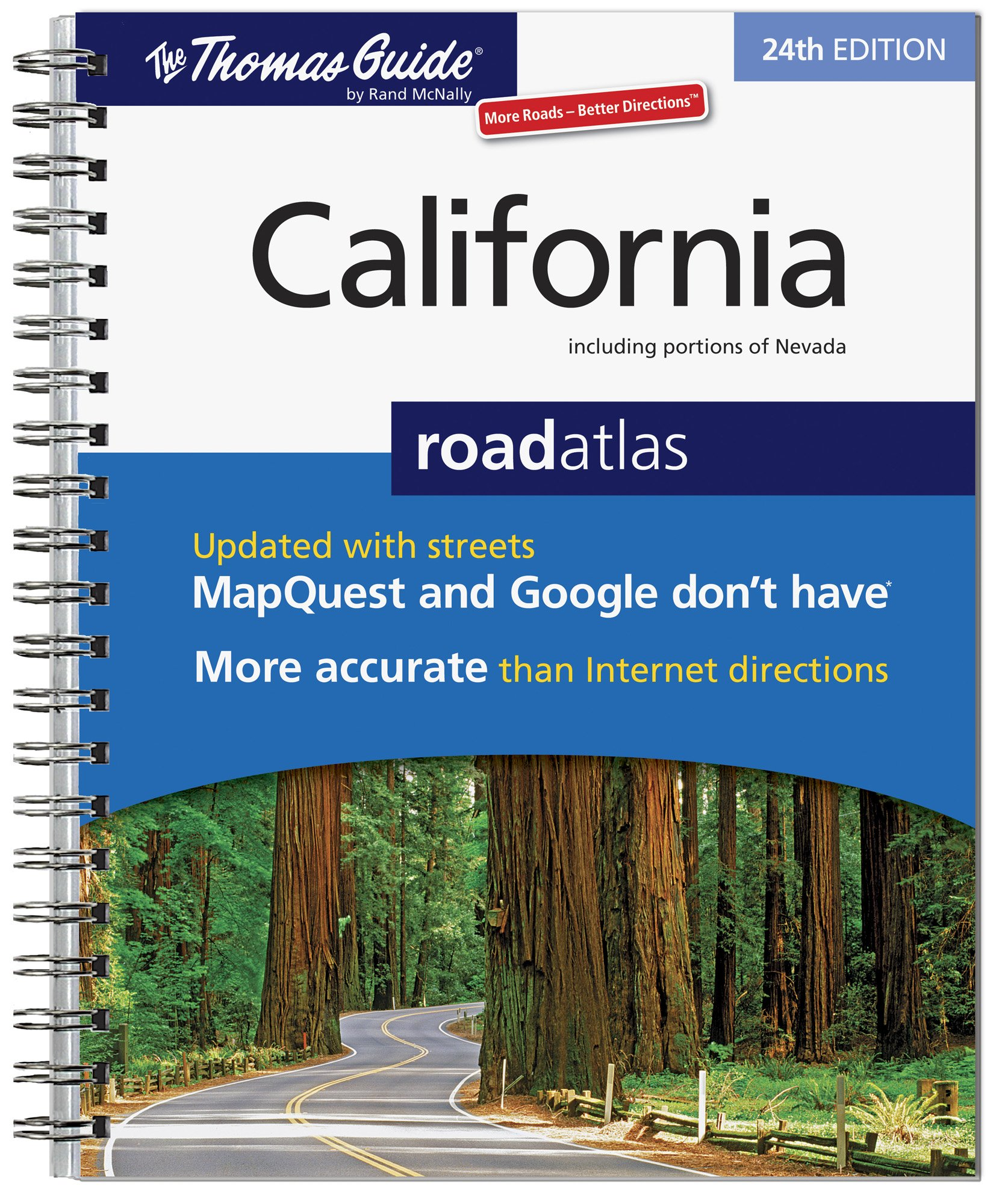 The Thomas Guide California Road Atlas: Not Available (NA ... on
