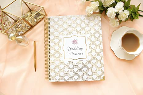 Amazon.com : bloom daily planners Undated Wedding Planner - Hard ...