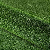 Primeturf 0.95 x 20m Synthetic Artificial Grass Turf Olive Plants Plastic Lawn 10mm