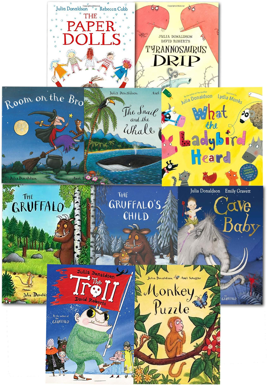 Julia Donaldson Collection: Amazon.es: Donaldson, Julia: Libros en ...