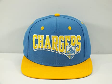 a221654faf0 Image Unavailable. Image not available for. Color  SAN DIEGO CHARGERS SKY  BLUE YELLOW NFL ADULT VINTAGE SNAPBACK CAP