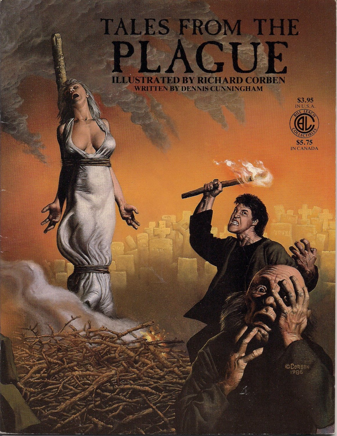 TALES FROM THE PLAGUE  (COMICS), Dennis Cunningham